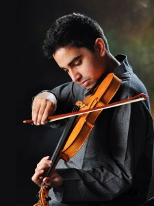 Tejas Mallela - Violin Photo