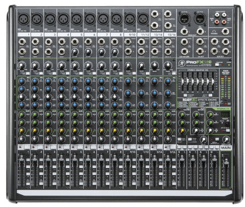 PA system Mixer
